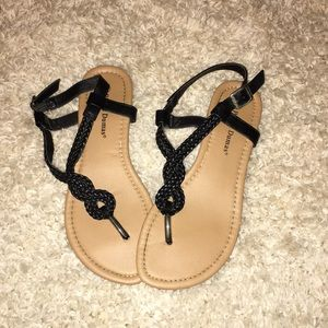 Black and Tan sandals!!